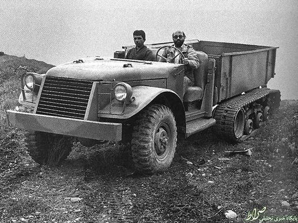 ماشین جنگی دکتر چمران +عکس