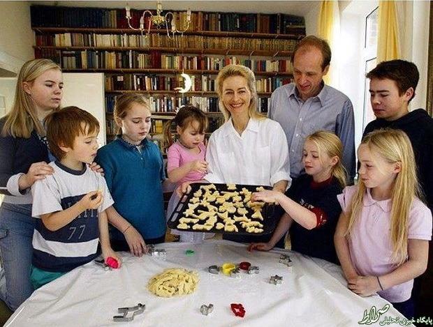 وزیری که ۷ بچه دارد! +عکس