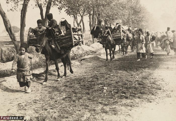 کاروان حجاج در عصر قاجار +عکس