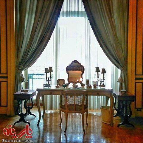 عکس/ اتاق آرایش فرح دیبا در کاخ نیاوران