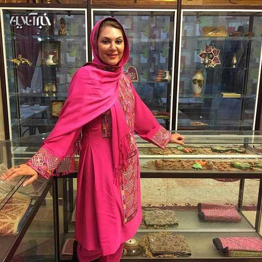 همسر لاله اسکندری عکس جدید بازیگران بیوگرافی لاله اسکندری