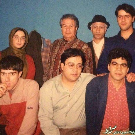 عکس/ سروش صحت و بازیگران طنز دهه 70