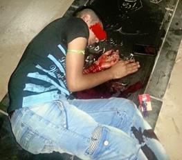 خودکشی یک جوان روی قبر پدرش؟+عکس