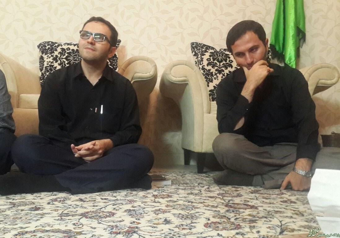عکس/ فرزاندان سردار شهید همدانی