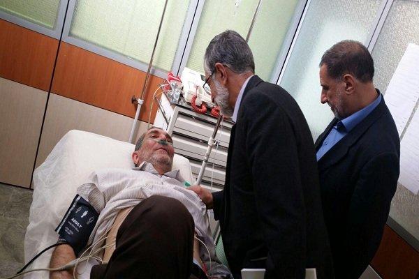 زارعی به اورژانس مجلس منتقل شد +عکس