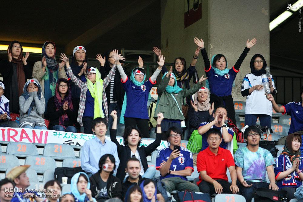 عکس/ حجاب دختران ژاپنی در آزادی