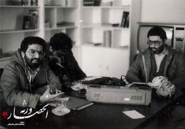روایتی تازه از شهید آوینی +عکس