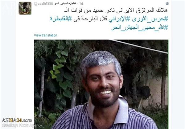 تکذیب شهادت یک ایرانی در سوریه +عکس