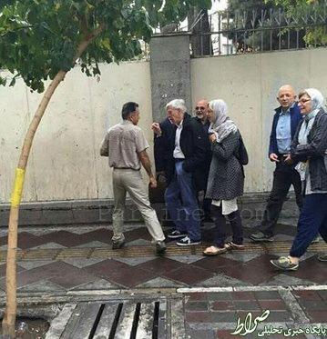 عکس/ پیادهروی جک استراو در تهران