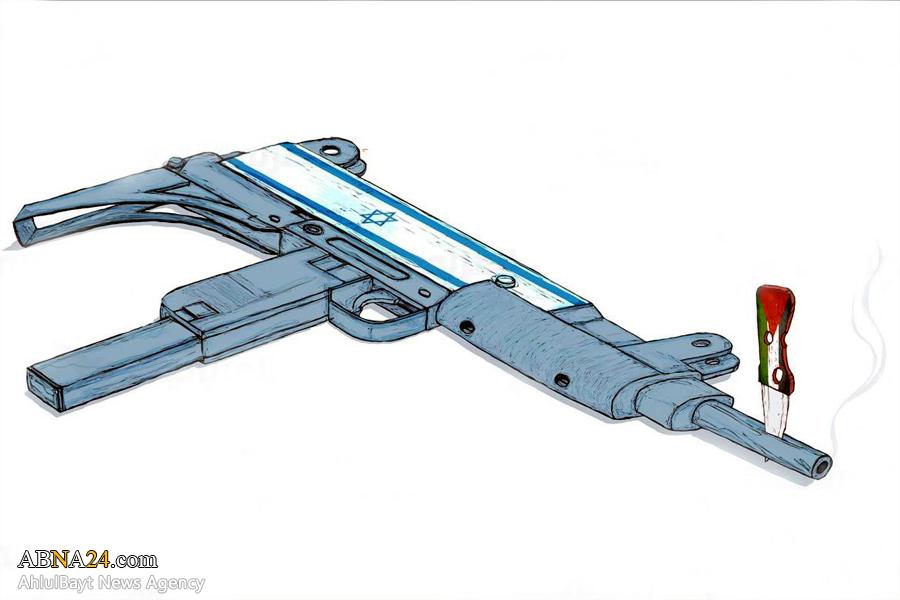 کاریکاتور/ برتری چاقو بر سلاح!