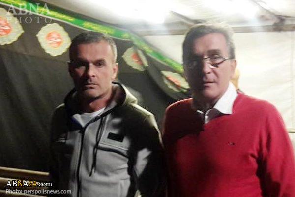 پرسپولیسیها در ایستگاه صلواتی عزاداری +تصاویر