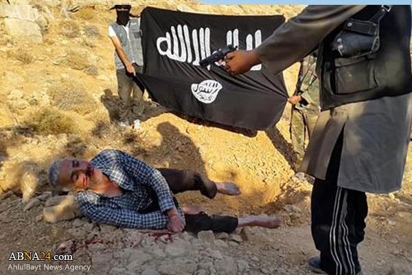 جنایت جدیدداعش درحومه دمشق+عکس