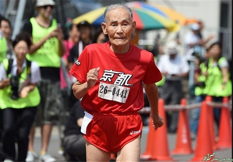 عکس/ سریعترین پیرمرد جهان