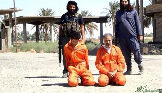 داعش پدر و پسر سنی را اعدام کرد + عکس
