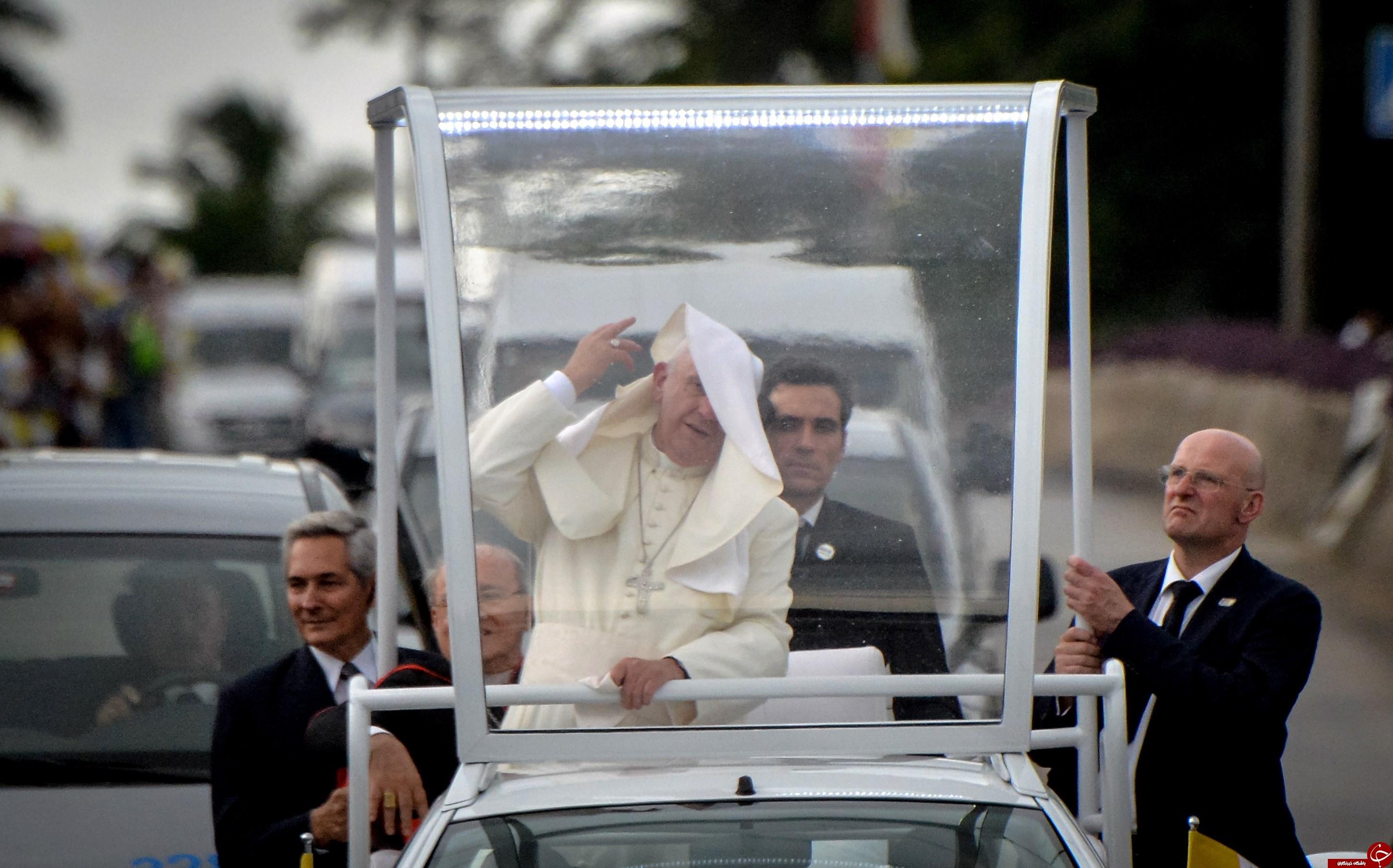 جنجالی ترین عکس پاپ در فضای مجازی