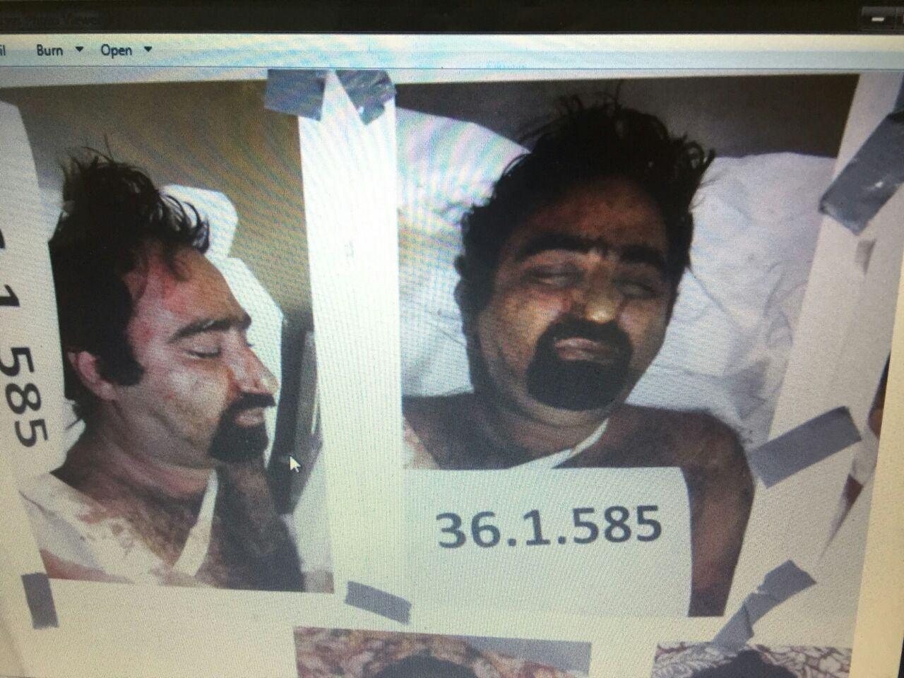 نوه یکی از علما در میان کشتههای منا +عکس