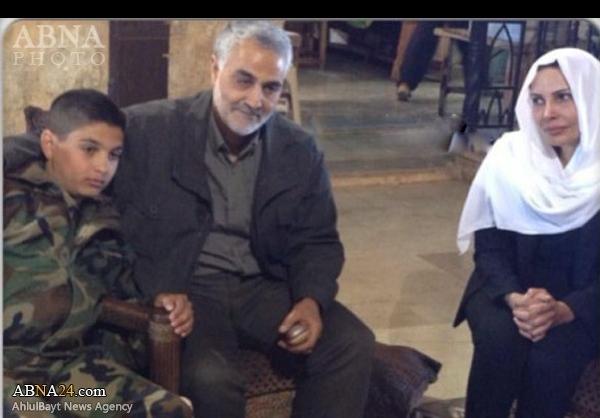 همسر هلال اسد ترور شد+تصاویر