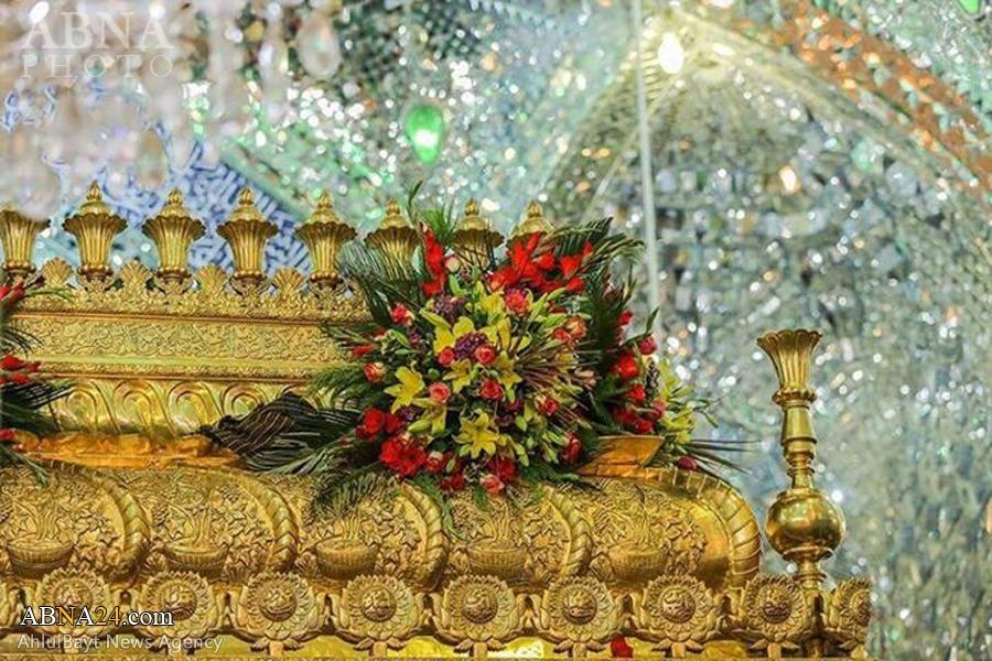 تصاویر/ حرم   امام   علی (ع) درآستانه عیدغدیر