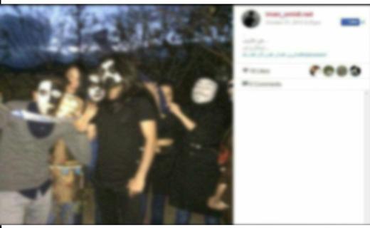 هالووین از BBC تا کافیشاپهای تهران! +تصاویر