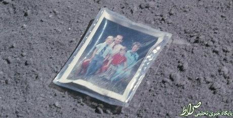 این عکس روی کره ماه جا ماند! +عکس