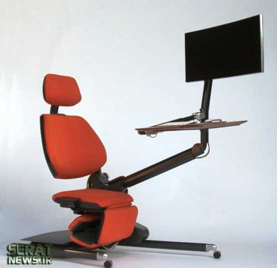 میز کامپیوتر عکس خلاقیت صندلی کامپیوتر Altwork