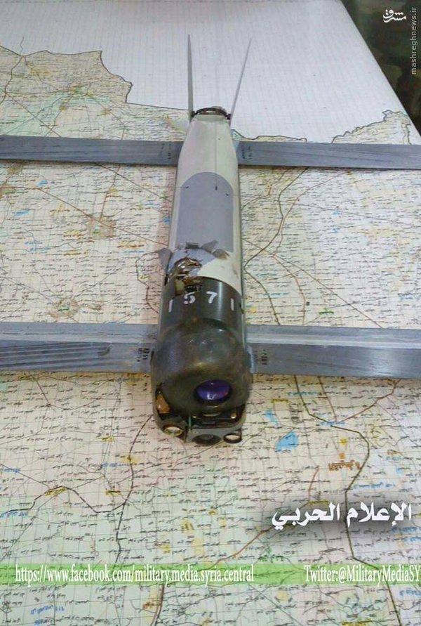 عکس/ کشف پهپاد آمریکایی در سوریه