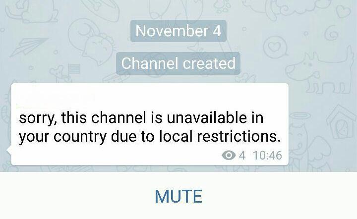 تلگرام کانالهای غیر اخلاقی را بست +عکس