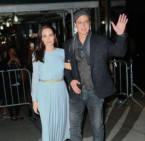 تصویر آنجلینا جولی و برد پیت پیش از نمایش «در کنار دریا» / جولی : زندگی مشترک ما شبیه فیلم نیست