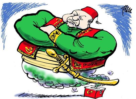 کاریکاتور/ غول صندوق رای!