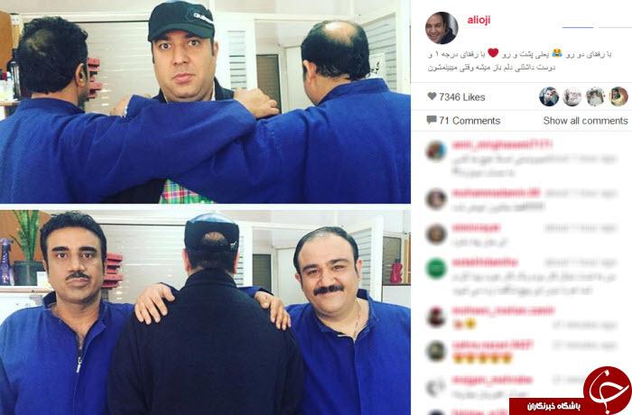 در پشت صحنه سریال مهران مدیری چه می گذرد؟ / عکس