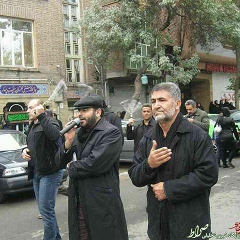 مداحی مجری برنامههای سیاسی +عکس