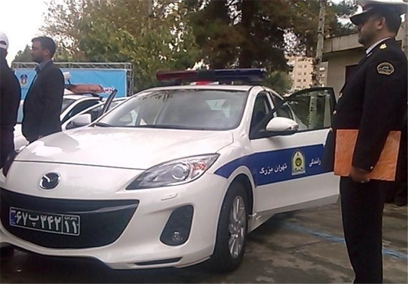عکس/ ماشین جدید پلیس ایران