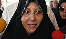 فاطمه هاشمی: پدرم توصیه کرده سکوت کنیم