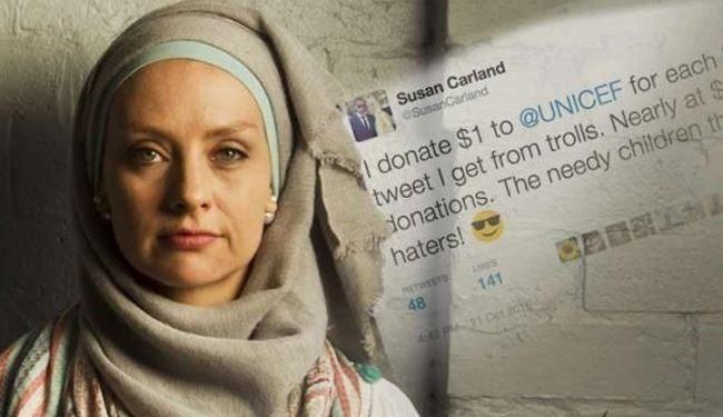 زن مسلمان استرالیایی فرهنگ توهین و تنفر را به چالش کشید +عکس