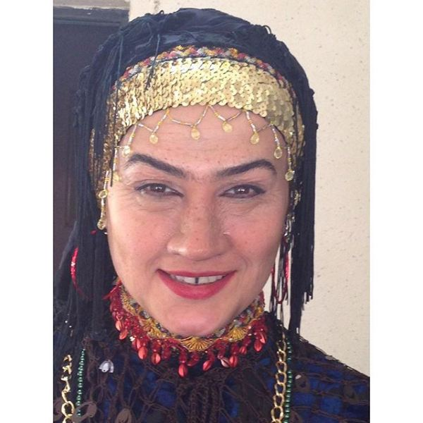 عکس/ گریم عجیب بازیگر زن معروف