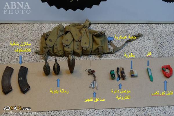 نقشه داعش برای حمله به زائران+عکس