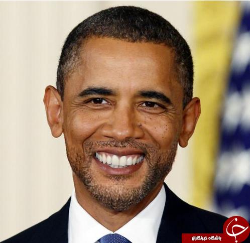اوباما با ریش ستاری +عکس