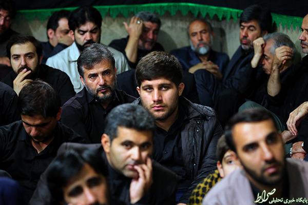 عکس/ بازیگر معروف در بیت رهبری