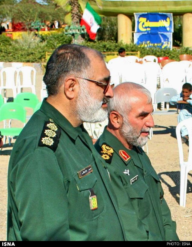 دو «حبیب سپاه» در یک قاب +عکس
