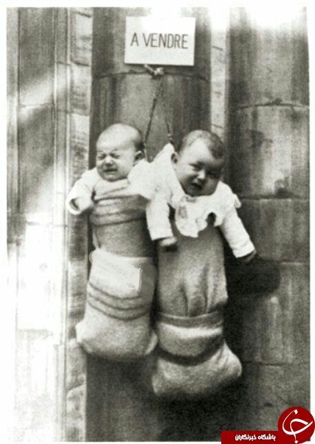 عکس/ حراج نوزادان در ایتالیا