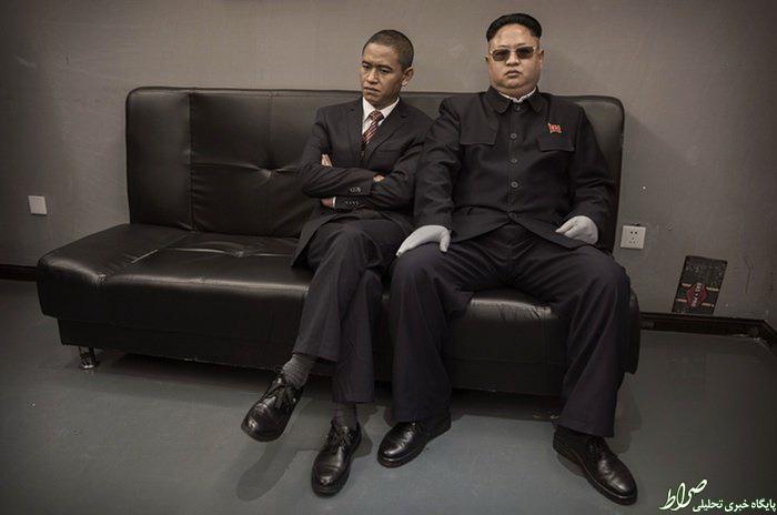 عکس/ بدلهای چینی «اون» و «اوباما»