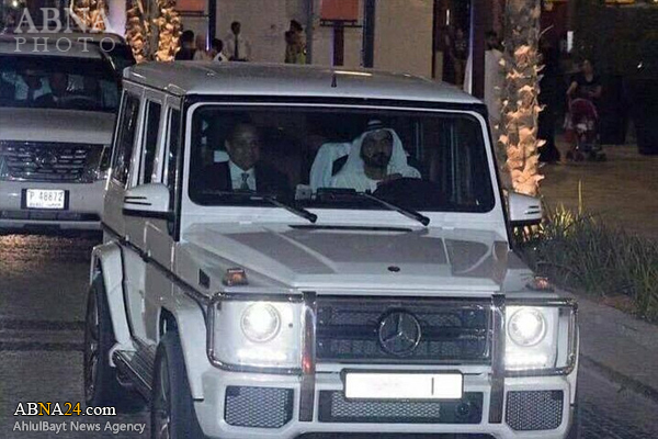 گردش السیسی باحاکم دبی درشهر+عکس