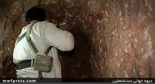 داعشیها قبر خود را میکنند! +عکس