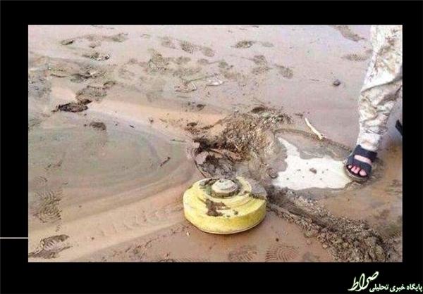 سیل، مینهای داعش را لو داد +تصاویر