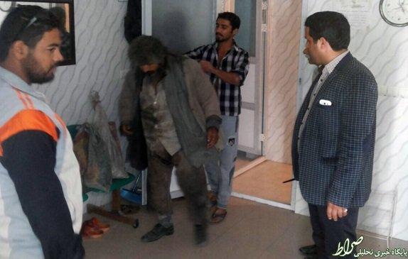گدای میلیونر بوشهری دستگیرشد+تصاویر