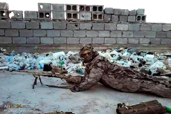 استتار قناصیگانطلایی ارتش عراق+عکس