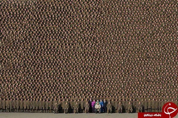 عکس/ با نظم ترین ارتش دنیا
