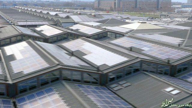 عکس/ بزرگترین بام خورشیدی جهان!