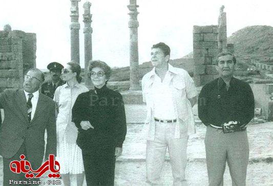 عکس/رئیس جمهور امریکا و همسرش در ایران