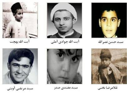 تصاویری از کودکی چهره های محبوب